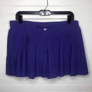 Lululemon Pleat To Street Skirt II in Iris Flower